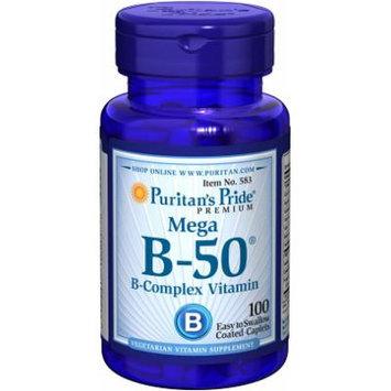 Puritan's Pride Vitamin B-50 Complex-100 Caplets