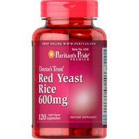 Puritan's Pride Red Yeast Rice 600 mg-120 Capsules
