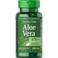 Puritan's Pride Aloe Vera 470 mg-100 Capsules