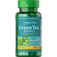 Puritan's Pride Green Tea Standardized Extract 315 mg-100 Capsules