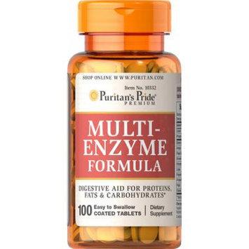 Puritan's Pride Multi Enzyme-100 Tablets