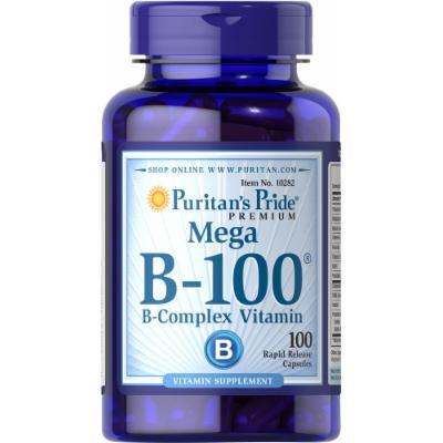 Puritan's Pride Vitamin B-100 Complex-100 Capsules