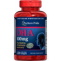 Puritan's Pride DHA 100 mg-120 Softgels