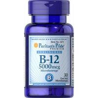 Puritan's Pride Vitamin B-12 5000 mcg Sublingual-30 Microlozenges