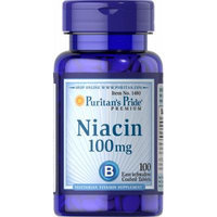 Puritan's Pride Niacin 100 mg-100 Tablets