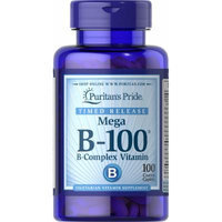 Puritan's Pride Vitamin B-100 Complex Timed Release-100 Caplets