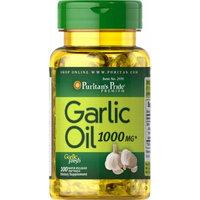 Puritan's Pride Garlic Oil 1000 mg-100 Rapid Release Softgels