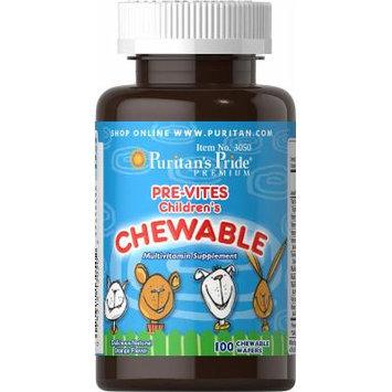 Puritan's Pride Pre-Vites Children's Multivitamin-100 Chewables