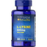 Puritan's Pride L-Lysine 500 mg-100 Capsules