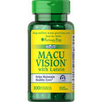 Puritan's Pride Macuvision with Alpha Lipoic Acid and Lutein-100 Capsules
