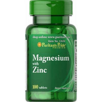 Puritan's Pride Magnesium with Zinc-100 Tablets