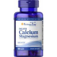 Puritan's Pride Calcium Magnesium Chelated-100 Caplets