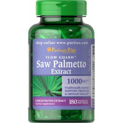 Puritan's Pride Saw Palmetto 1000 mg-180 Softgels