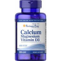 Puritan's Pride Calcium Magnesium with Vitamin D-120 Caplets