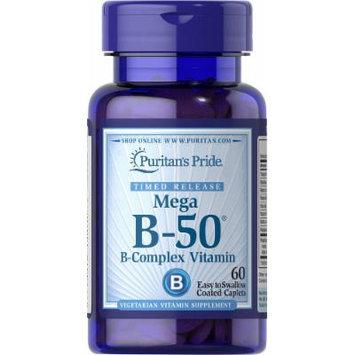 Puritan's Pride Vitamin B-50 Complex Timed Release-60 Caplets