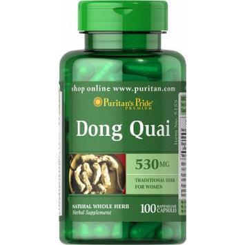 Puritan's Pride Dong Quai 530 mg-100 Capsules