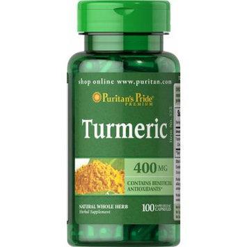 Puritan's Pride Turmeric 400 mg-100 Capsules