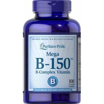 Puritan's Pride Vitamin B-150 Complex-100 Caplets