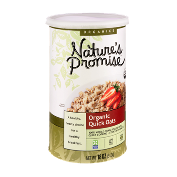 Nature's Promise Organics Organic Quick Oats