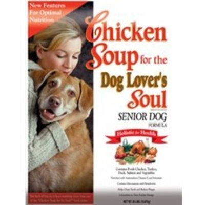 Chicken Soup For The Pet Lover's Soul Chicken Soup for the Dog Lover's Soul Dry Dog Food for Senior Dog, Chicken Flavor, 35 Pound Bag