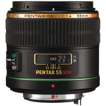 Pentax DA Star 55mm F/1.4 SDM SMC Standard Lens for Pentax Digital SLR Cameras