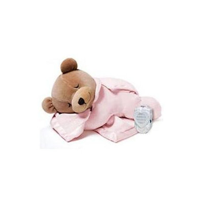 Prince Lionheart Silkie Slumber Bear Natural Audio Pacifier Pink