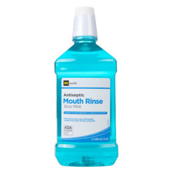 DG Health Antiseptic Mouth Rinse - Blue Mint, 1.5 liters