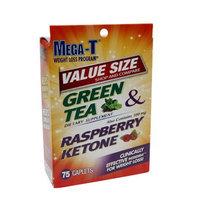 Mega-T Green Tea & Raspberry Ketone, Value Size, Caplets