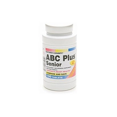 Abc Plus Vitamins Nature's Bounty ABC Plus Senior Tablets 100ct, 100 ea
