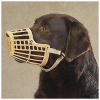 Guardian Gear Basket Dog Muzzle XL Black