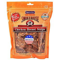 SmokeHouse USA Made Chicken Strips Dog Treats - 16 oz.