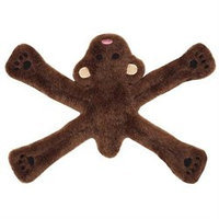 Doggles TYPPBE20 Plush Pentapull Bear Dog Toy - Brown