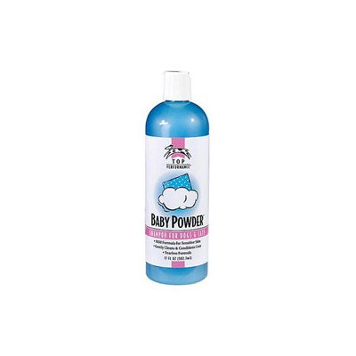 Pet Pals TP566 17 Top Performance Baby Powder Shampoo 17oz