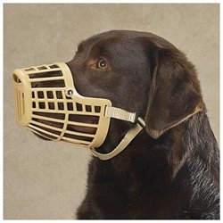Guardian Gear Basket Dog Muzzle XS Beige