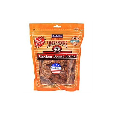 Smokehouse Treats Chicken Breast Strips: 8 oz