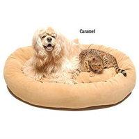 Everest Pet Carolina Pet Company Small Microfiber Bagel Bed - Sage