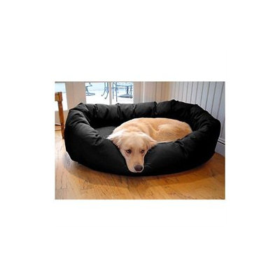 Majestic Pet Products, Inc. Majestic Pet Denier Bagel Dog Bed Medium Black