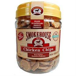 Smokehouse Brand Dog Treat Chicken Chips Small 1lb
