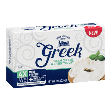 Green Mountain Farms Greek Cream Cheese & Greek Yogurt