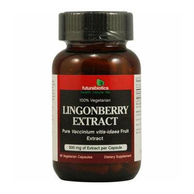 FutureBiotics Lingonberry Extract 500 mg 60 Vegetarian Capsules