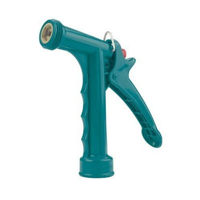 Gilmour Full Size Polymer Pistol Grip Nozzle with Threaded Front 474 Teal (Discontinued by Manufacturer)