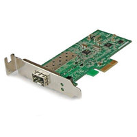 PCI EXPRESS 10/100 MBPS ETHERNET FIBER SFP PCIE NETWORK CARD ADAPTER NIC