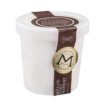 Maple's Organic Gelato Chocolate-Covered Strawberry