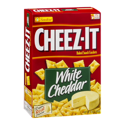 Cheez-It® Sunshine Baked Snack Crackers White Cheddar