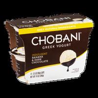 Chobani® Greek Yogurt Indulgent Banana & Dark Chocolate