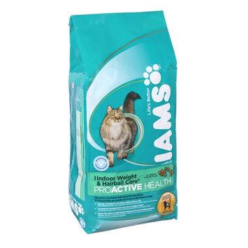 Iams ProActive Health Indoor Weight & Hairball Care 1+ Years Premium Cat Food