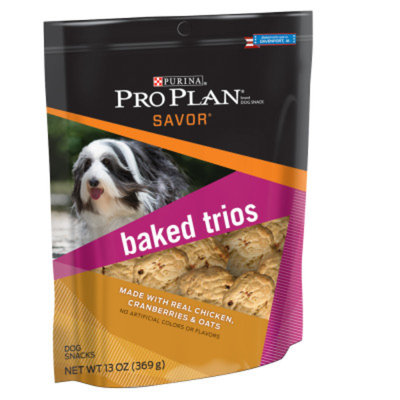 Purina Pro Plan PurinaA Pro Plan Savor Baked Trios Dog Snack