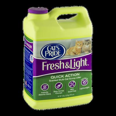 Cat's Pride Fresh & Light Quick Action Scented Multi-Cat Scoop Litter