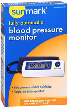 Sunmark Fully Automatic Blood Pressure Monitor, 1 Each by Sunmark