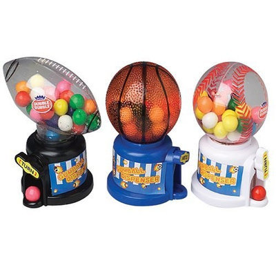 Kidsmania Sports Gumball Machines with Gum